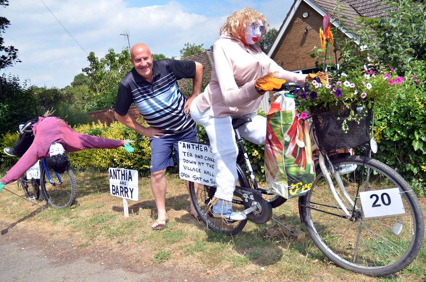 Moulton Garden Crawl and Scarecrow Festival is on this Saturday and Sunday (image from last year's event)
