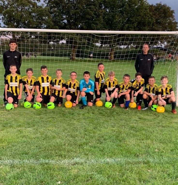 Crowland Junior FC is looking for new players for the Under 12s team (42386867)
