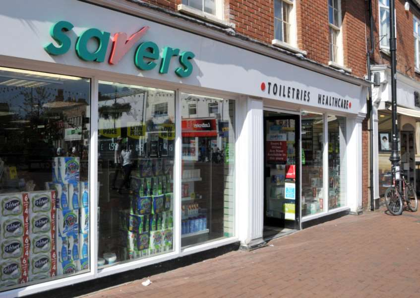 Savers in Hall Place at Spalding. SG300813-135TW