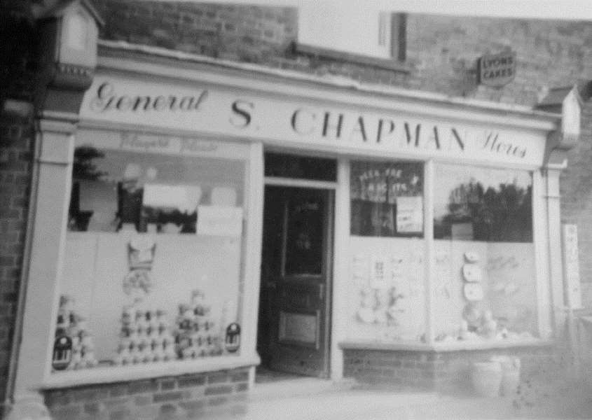 Surfleet General Stores, now Surfleet Fish and Chip shop. Photo provided by Mike Chapman. The store was run by his father Stanley.