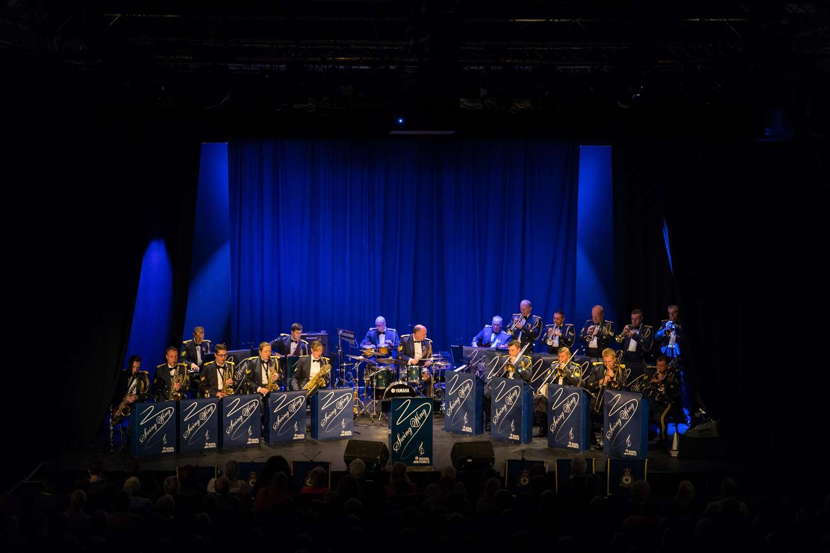 The RAF Swing Wing Band plays at the South Holland Centre on Saturday. (6784322)