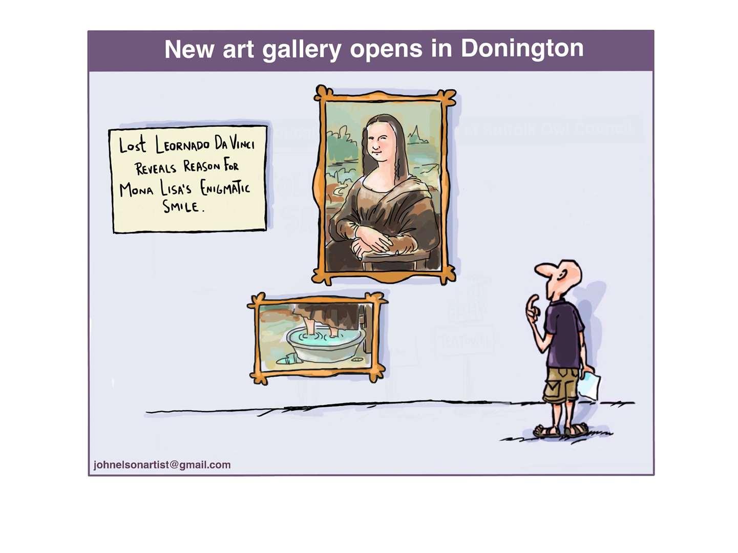 John Elson's Spalding Guardian cartoon.  (49398636)