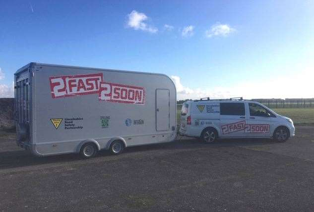 The new 2fast2soon van and trailer funded by Intergen, owners of Spalding Power Station.Photo supplied. (20397786)