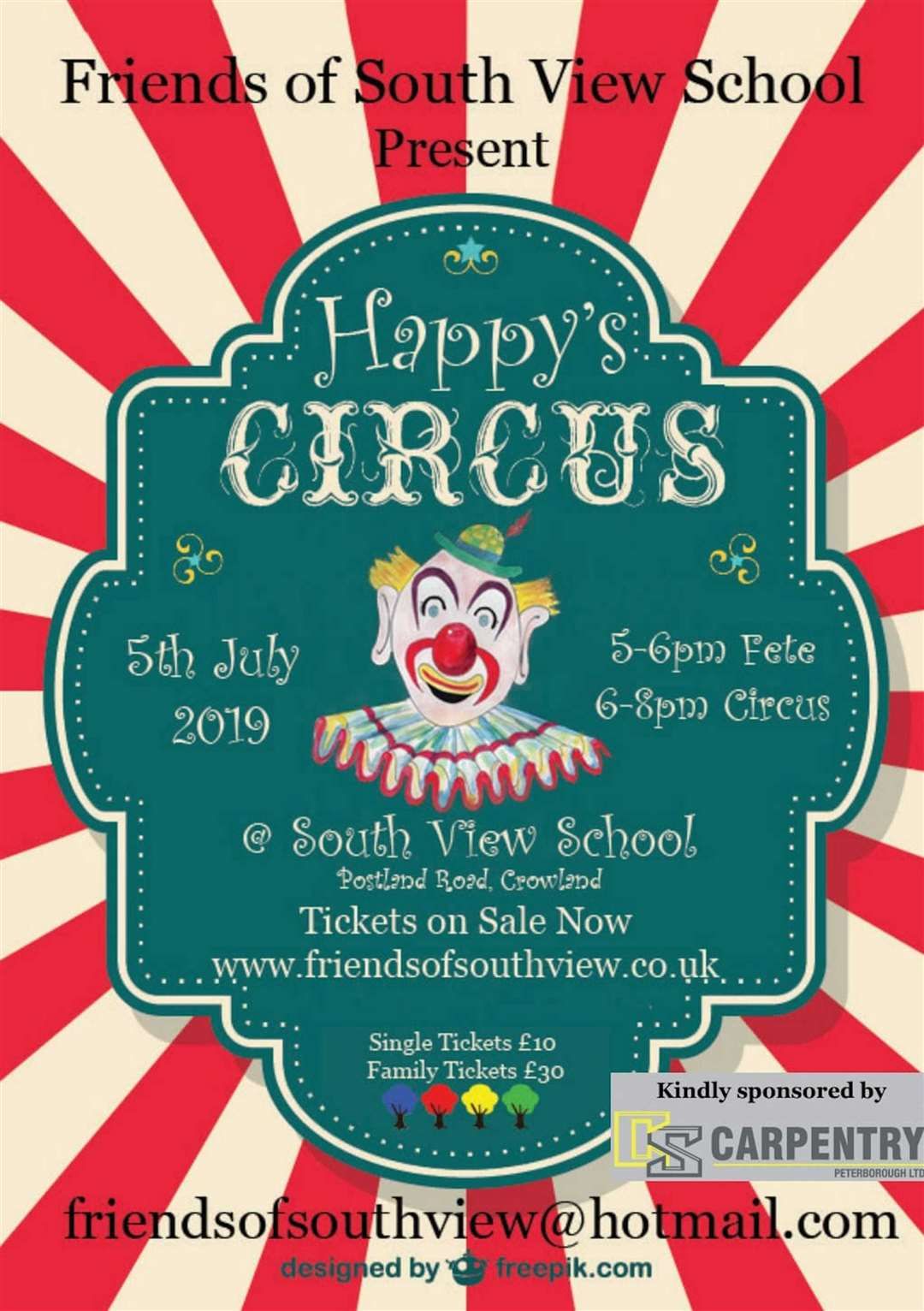 Circus at Crowland school (13224996)
