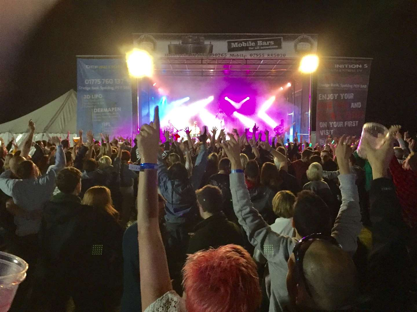 This year's Holbeach Music and Beer Festival is set to be bigger than ever. (Image from a previous festival). (3353029)