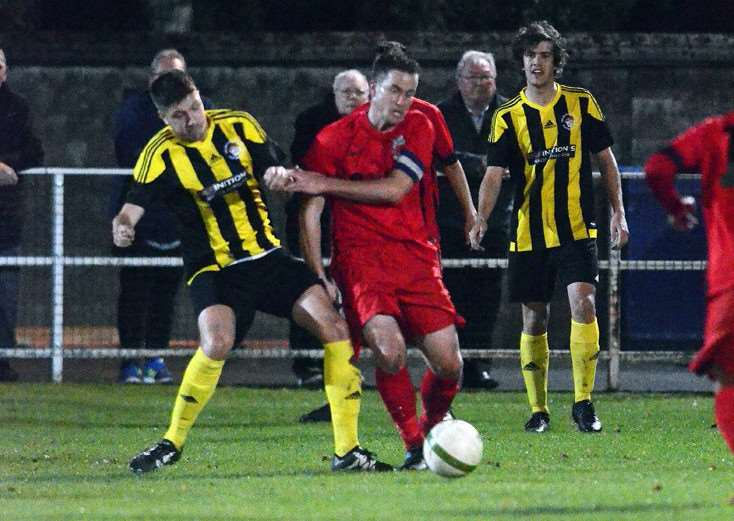 Pinchbeck captain Nick Bishop