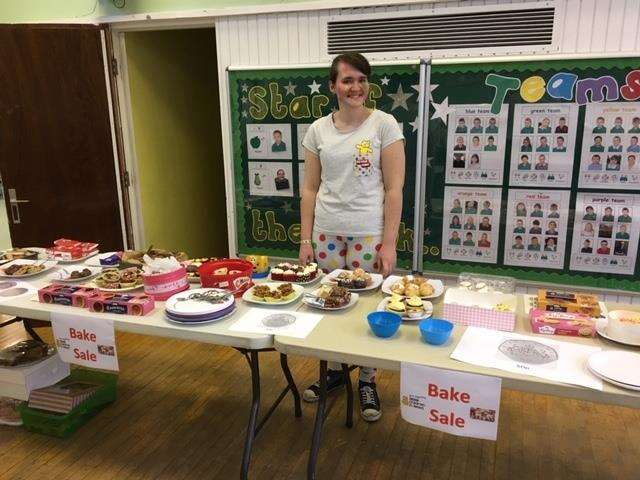 The Garth School in Spalding raised £228 for Children in Need (5476014)