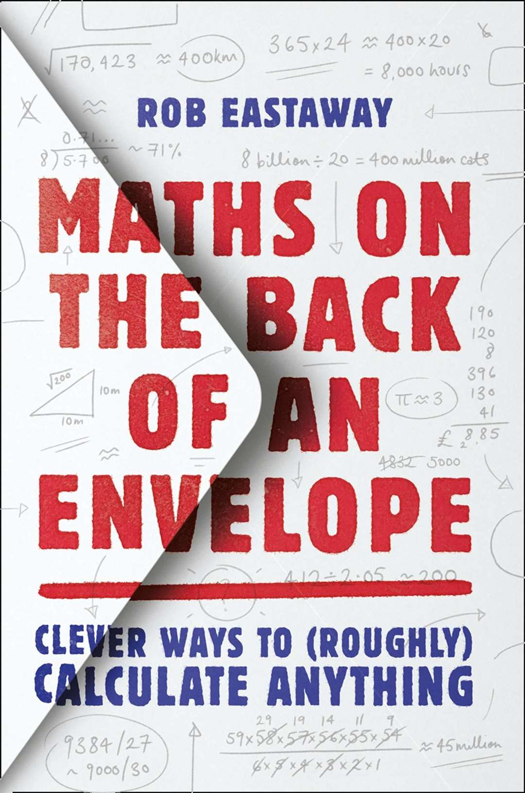 Maths on the Back of an Envelope. Bookmark in Spalding's Book of the Week.