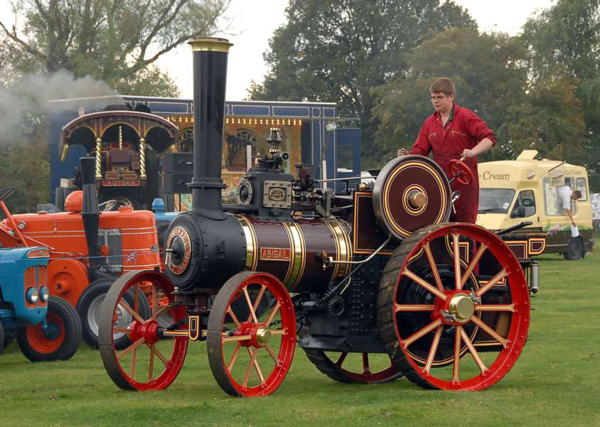Bicker Steam Threshing and Classic Car Show is this weekend. (Photo from a previous show.)