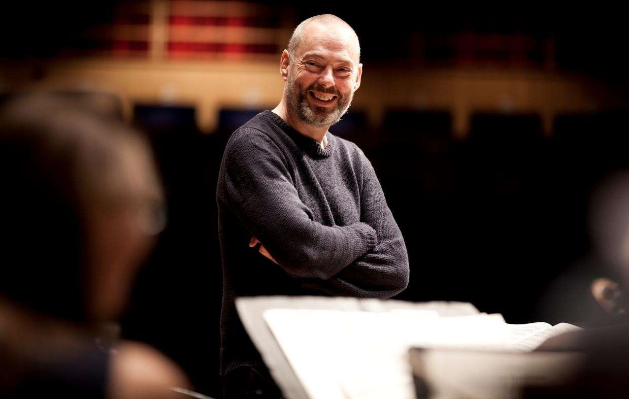Tenor Mark Padmore who performed with the Britten Sinfonia at Crowland Abbey on Sunday. Phtoo by Ben Ealovega. (5650629)