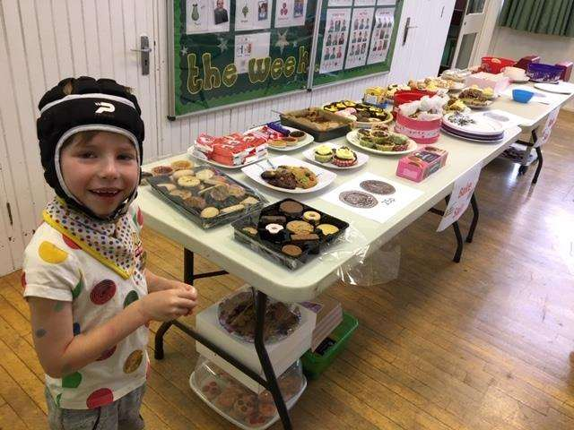 The Garth School in Spalding raised £228 for Children in Need (5476016)