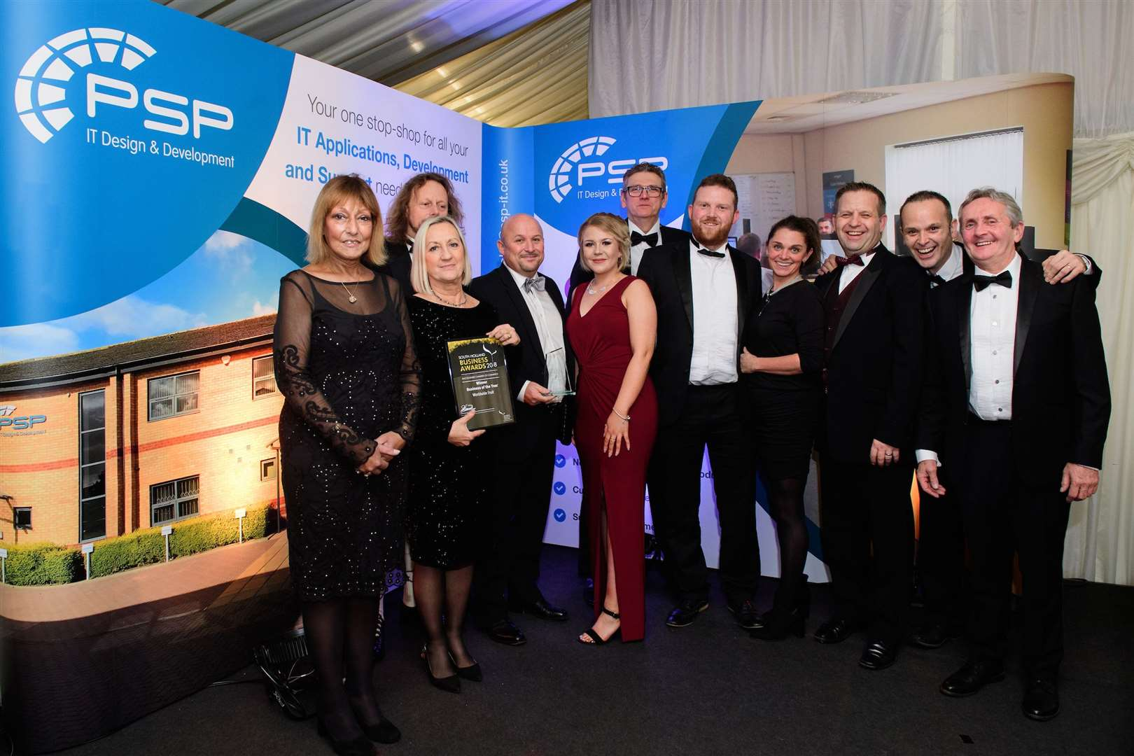 Business of the Year, sponsored by Woodhouse Farm Lodge. Winner: Worldwide FruitSouth Holland Business Awards 2018, hosted by Lincolnshire Chamber of Commerce and held at Springfields Events and Conference Centre.Picture: Chris Vaughan Photography for Lincolnshire Chamber of CommerceDate: November 15, 2018 (15930068)