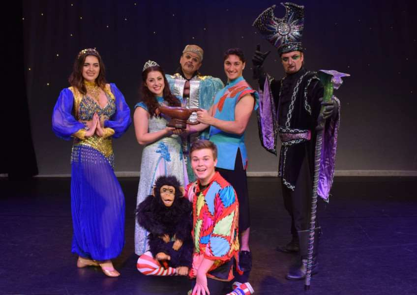 Aladdin is on at the South Holland Centre in Spalding from Saturday, December 9.