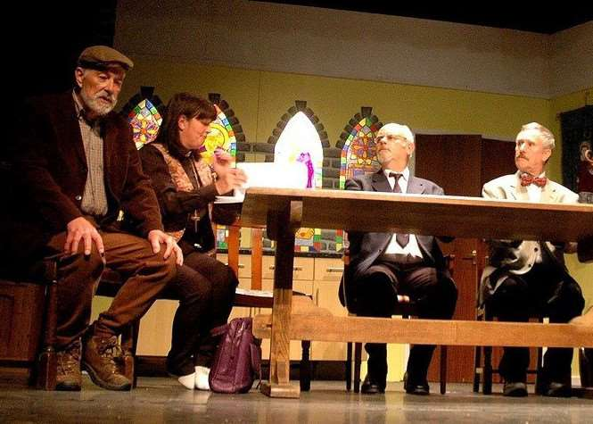The St Nicolas Players perform The Vicar of Dibley, The Final Chapter and Verse at the South Holland Centre in Spalding.