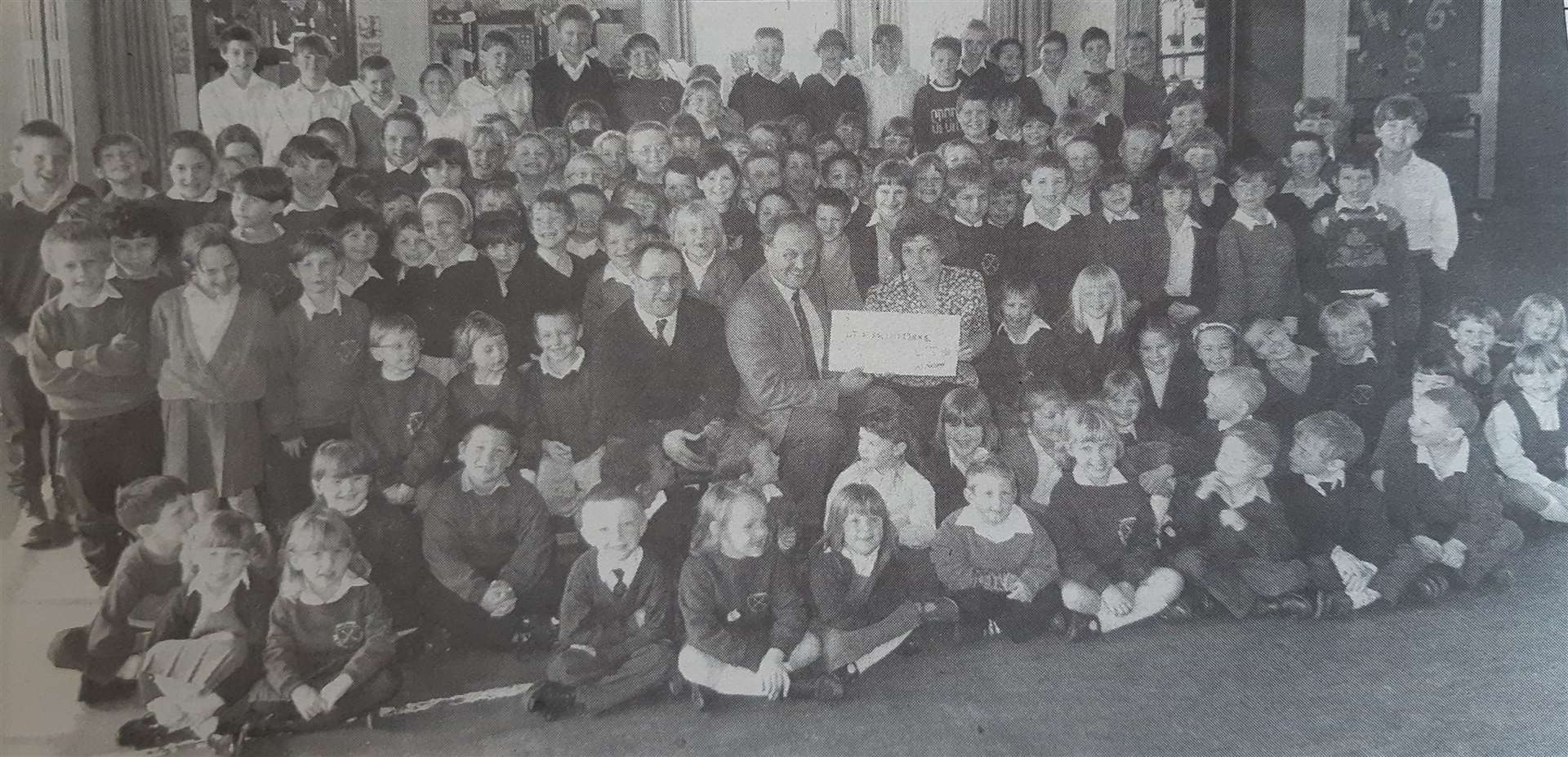 Spalding St Paul's School youngsters pictured in 1995. (33288215)
