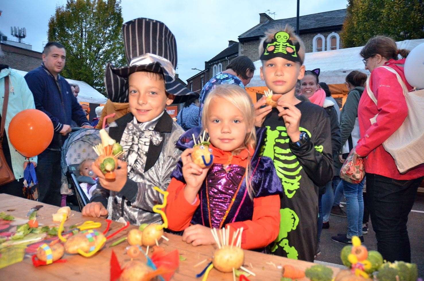 It's the Spalding Pumpkin Festival and parade on Friday.