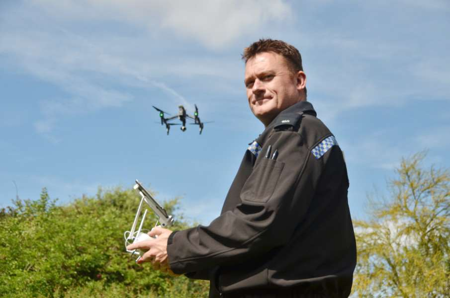 Launch of Operation Galileo - use of drone