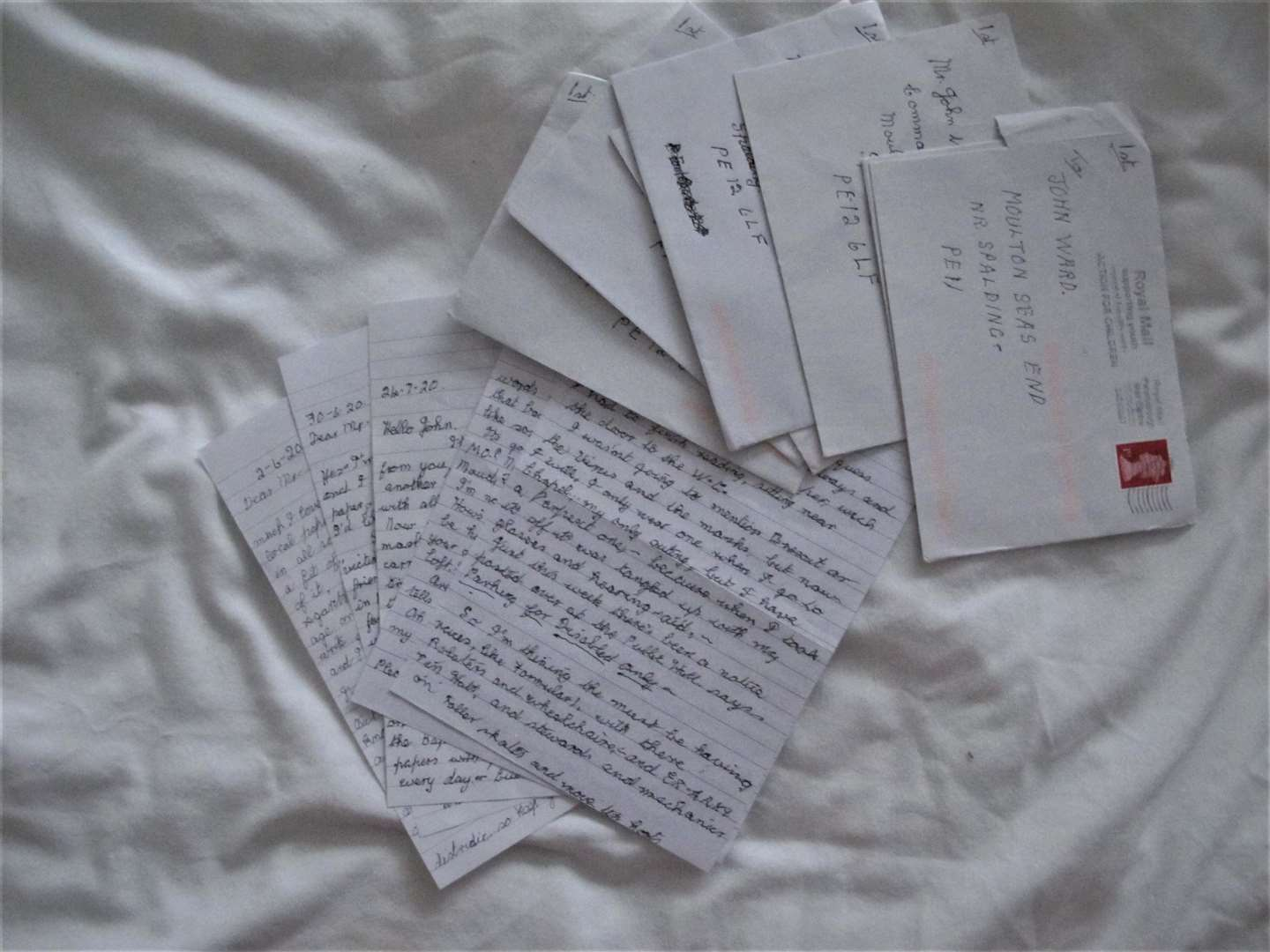 Some of Rita's letters (43108019)