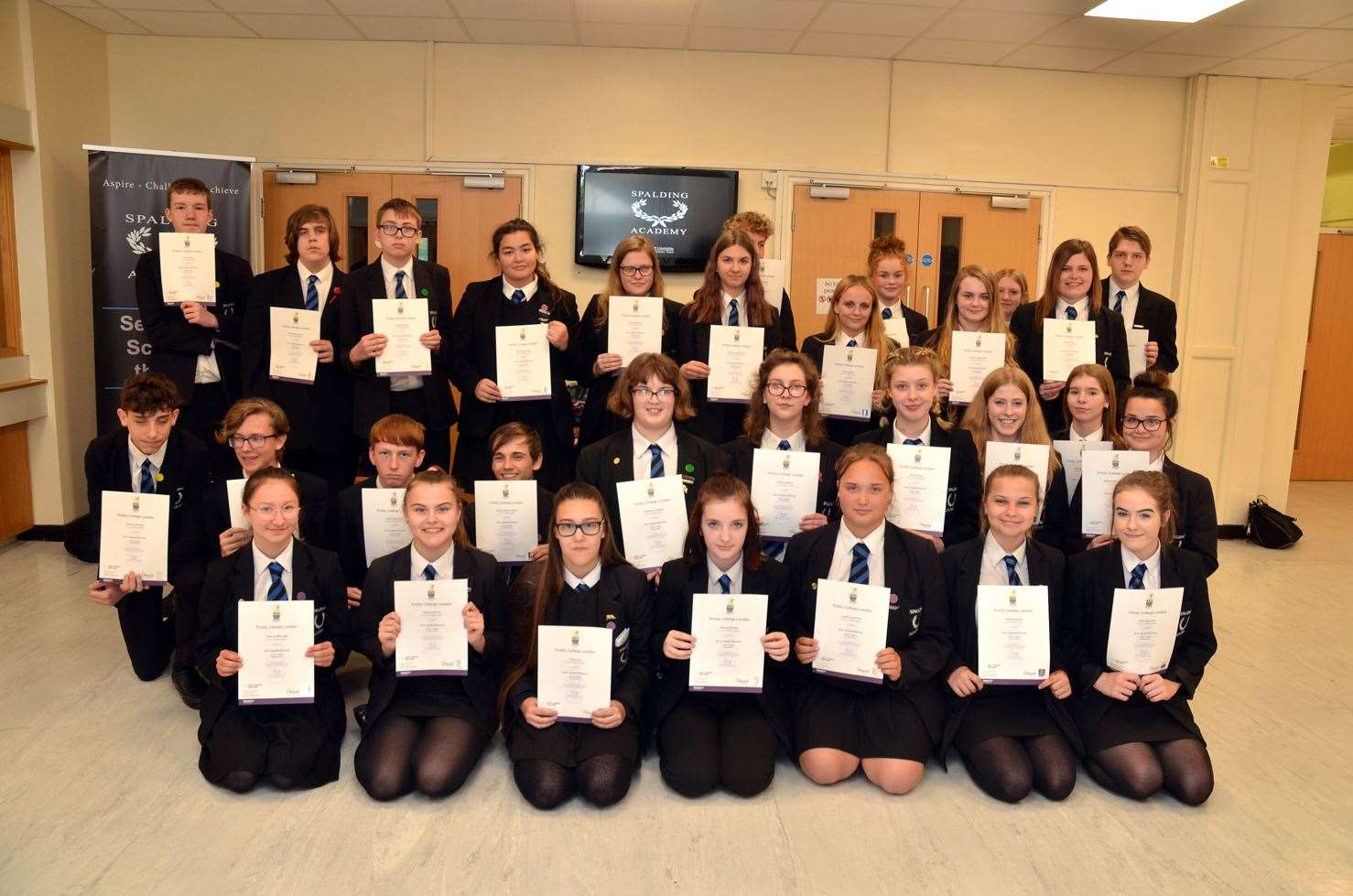 Spalding Academy Arts Awards achievers (9342830)
