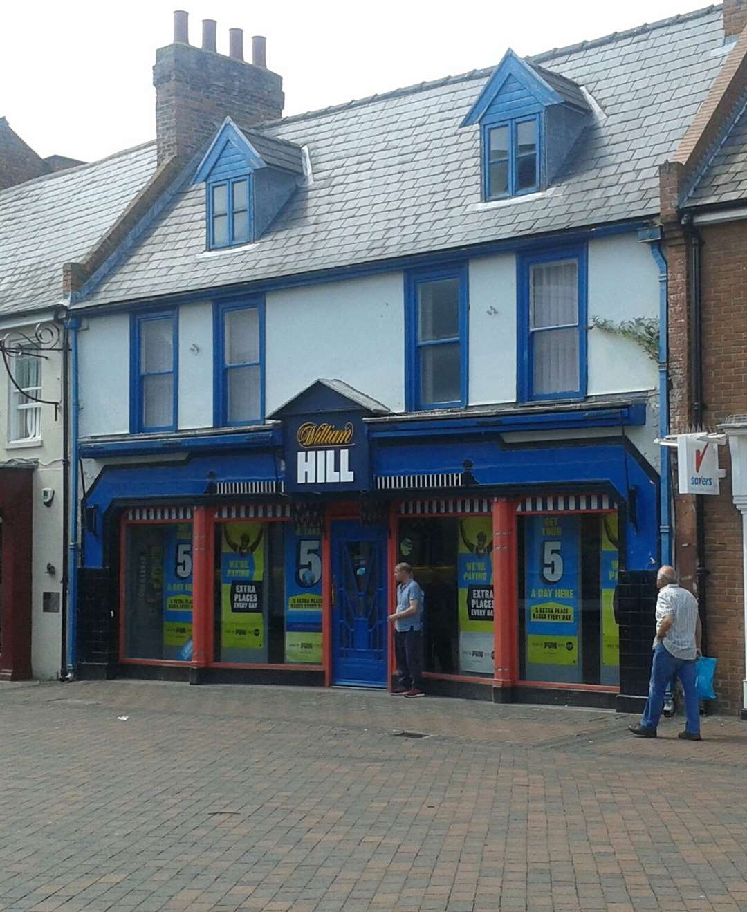 William Hill in Hall Place, Spalding. (13410901)