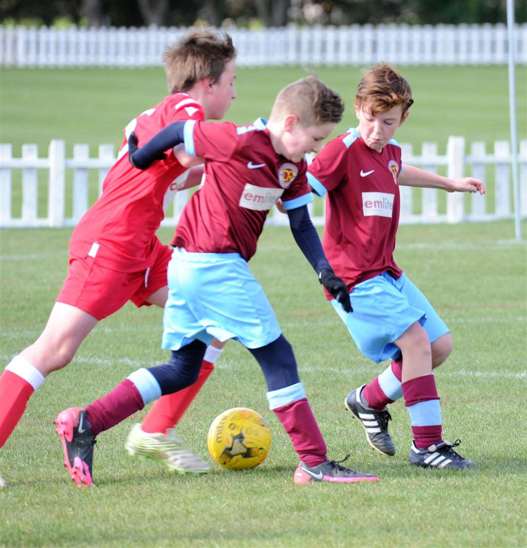 Deeping Rangers Under 12s v Stamford. Photo: Chris Lowndes