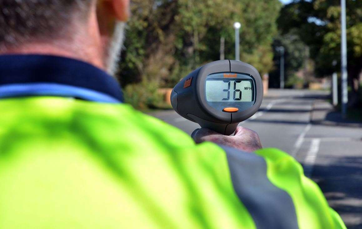 Community Speed Watch groups in South Holland are being invited to take part in a day of action for Project Edward on September 26.Photo (TIM WILSON): SG-250918-009TW