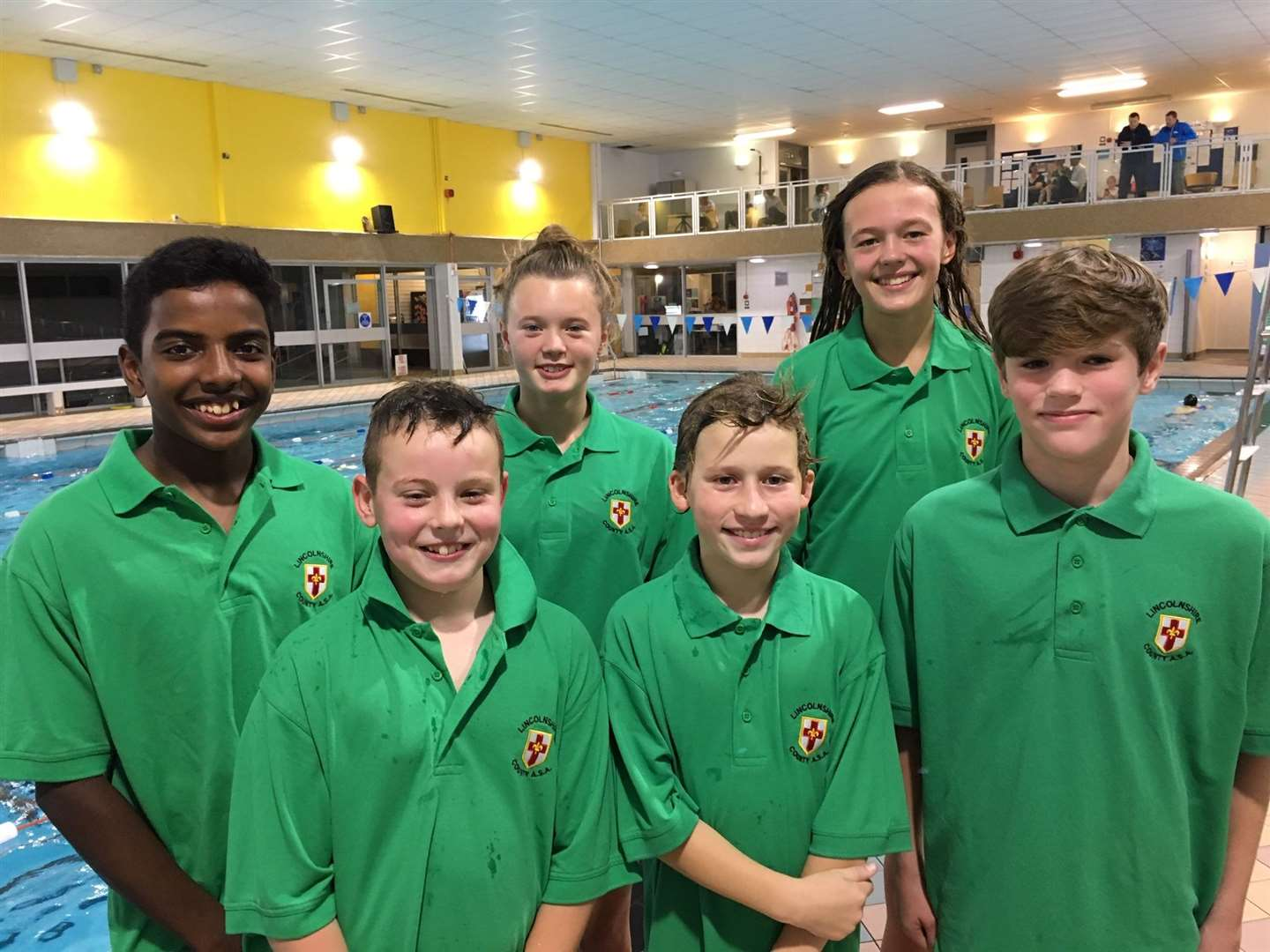 South Lincs swimmers representing Lincolnshire
