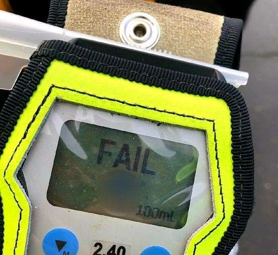 Failed breath test (38825290)
