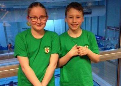 South Lincs juniors Ellie O'Brien and Oliver Sorrell were selected for the Swim England Talent Pathway 2018.