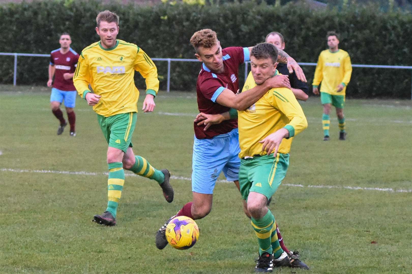 Bourne Town v Holwell Sports