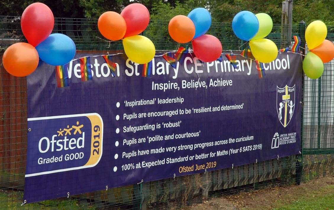 Celebrations continue for Weston St Mary School