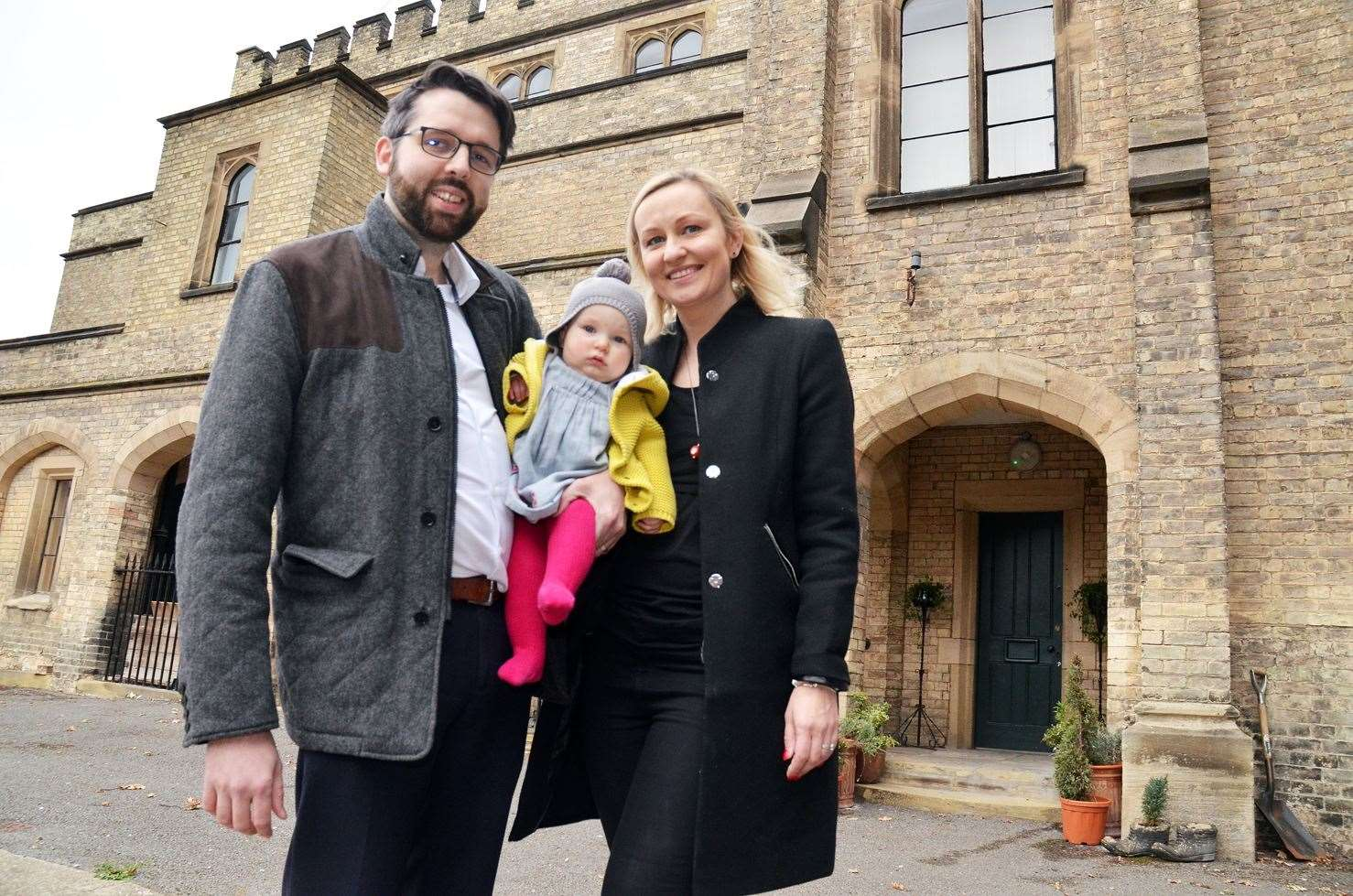 Library picture: Oliver and Dorota Sneath outside The Sessions House