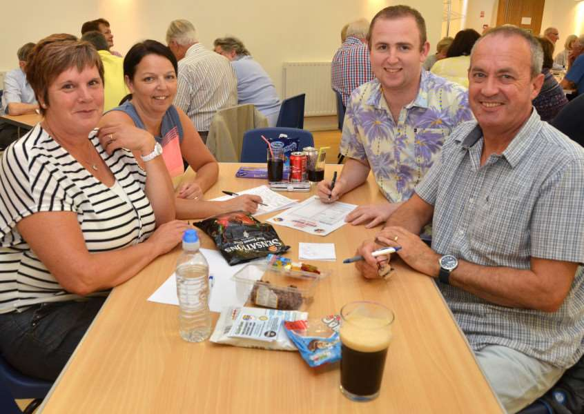 Quizzers pictured at last year's event. SG130716-207TW