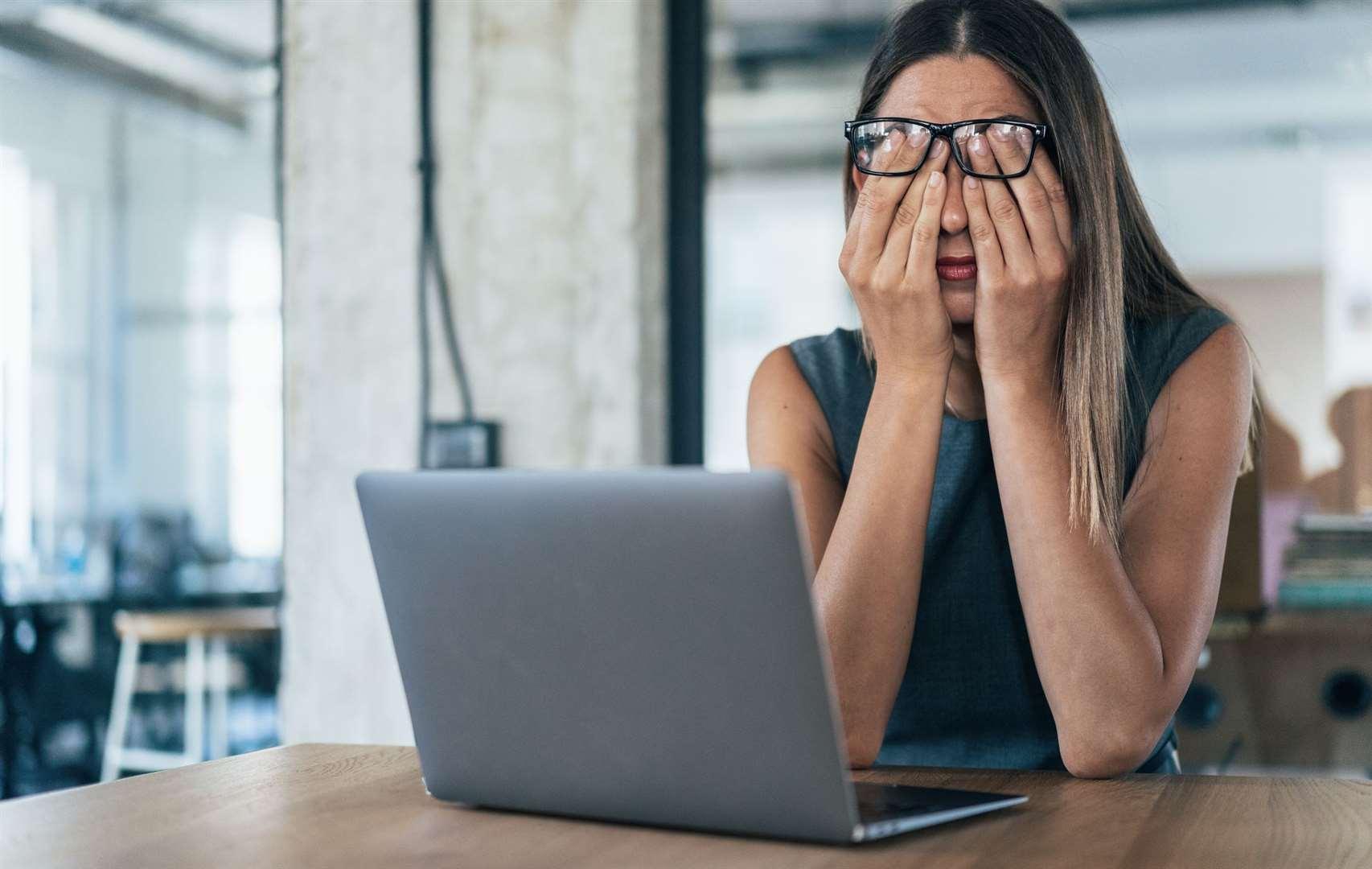 O estresse causa uma em cada cinco visitas ao clínico geral.