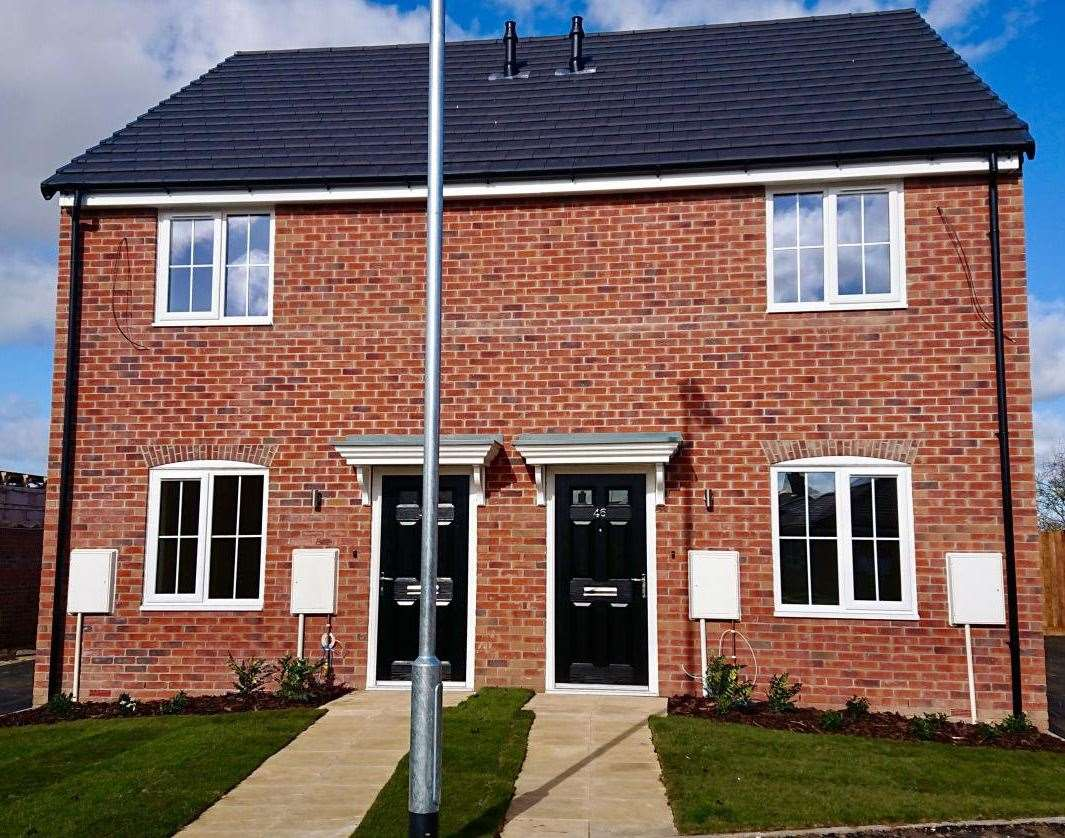 One of the new homes included in SHDC's Shared Ownership scheme in Moulton.Photo supplied by South Holland District Council. (7783014)