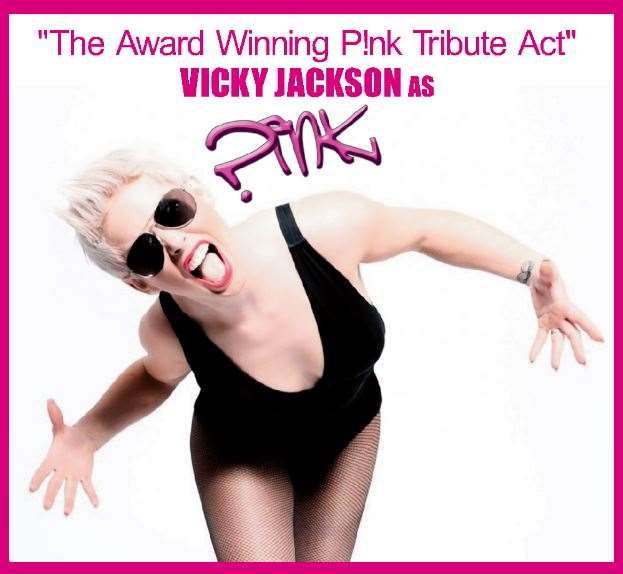 Pink tribute, Vicky Jackson, is headlining at the Holbeach Music and Beer Festival on the Sunday. (11315690)
