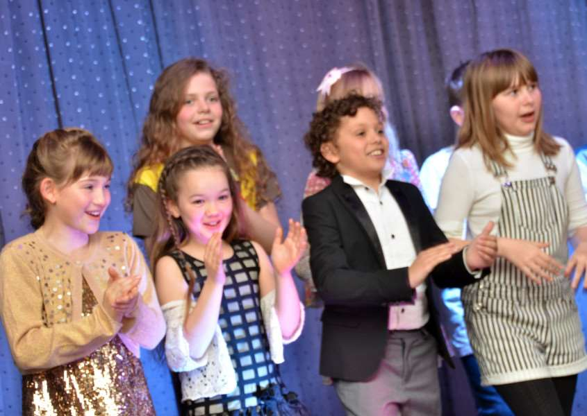 Young entertainers at last year's Carnival Cabaret evening. Photo: (Tim Wilson) SG310317-207TW