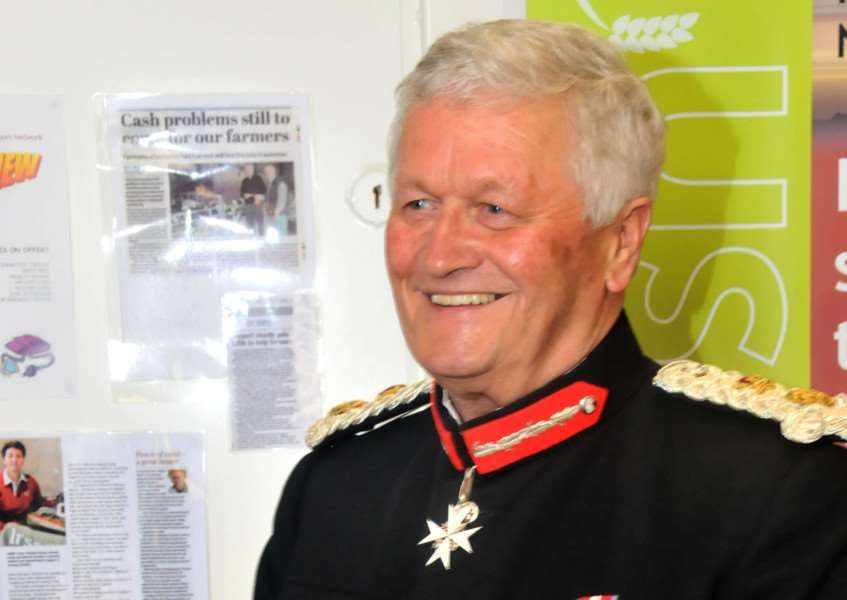 Tony Worth, Lord Lieutenant of Lincolnshire from 2008 until 2015. Photo: SG150513-225NG.