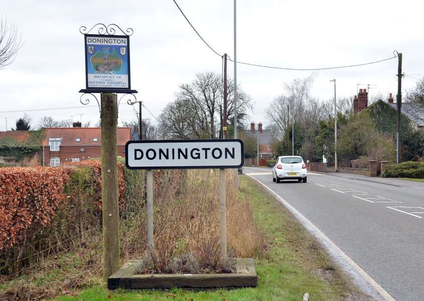 Library picture: Donington news.