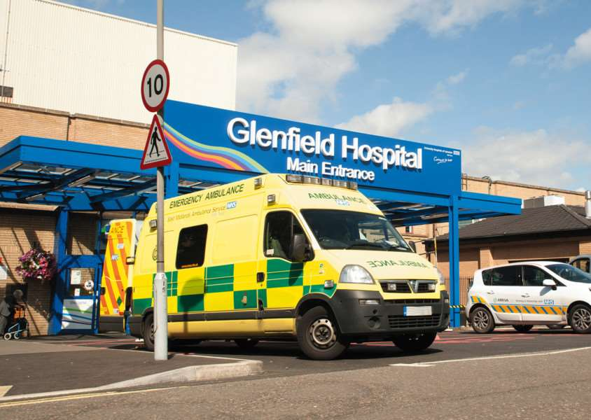 FINAL VICTORY: Glenfield Hospital in Leicester where the East Midlands Congenital Heart Centre is based. Photo supplied by University Hospitals of Leicester NHS Trust.
