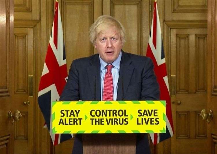 Boris Johnson has announced further measures to ease lockdown (PA Video) (36409624)