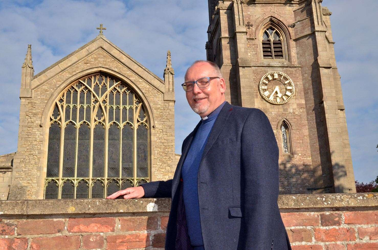 Rev John Bennett, vicar of St Mary and St Nicolas Church in Spalding, has helped organise the event, called A Spalding Harvest.