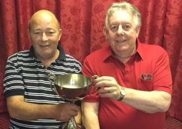 Landlords Cup: Dick Morgan & Tony Branch