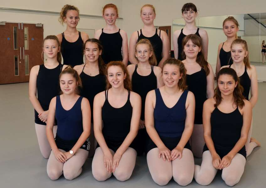 Students are ready for their first classes at Spalding School of Dance's brand new base in Low Fulney. Photo (TIM WILSON): SG231117-109TW.
