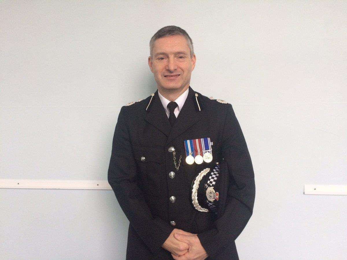 Lincolnshire Police Chief Constable Bill Skelly.