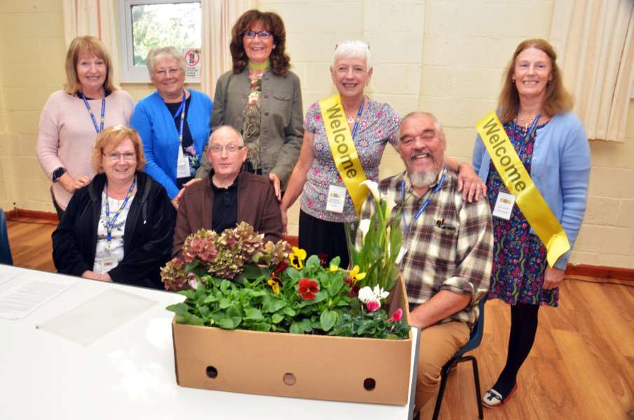 U3A new committee at Surfleet village hall.