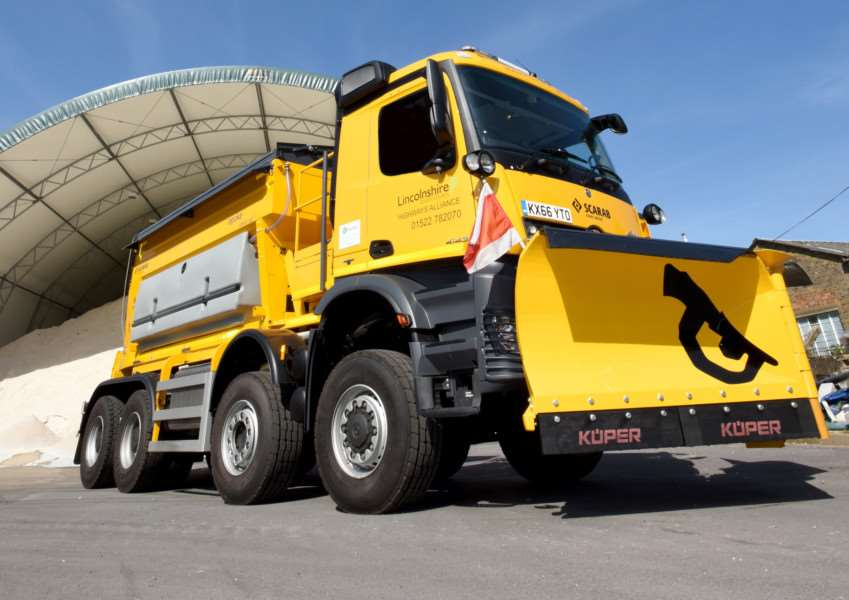 The Beast will soon be treating Lincolnshire roads in the winter season.