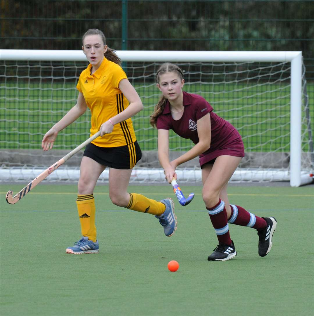 Spalding Ladies 2nd in action during their 2-0 win over Horncastle last month.