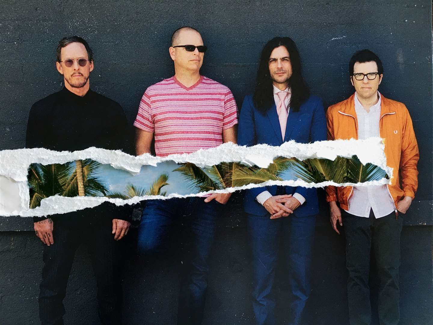 Weezer. Image supplied by Pomona.