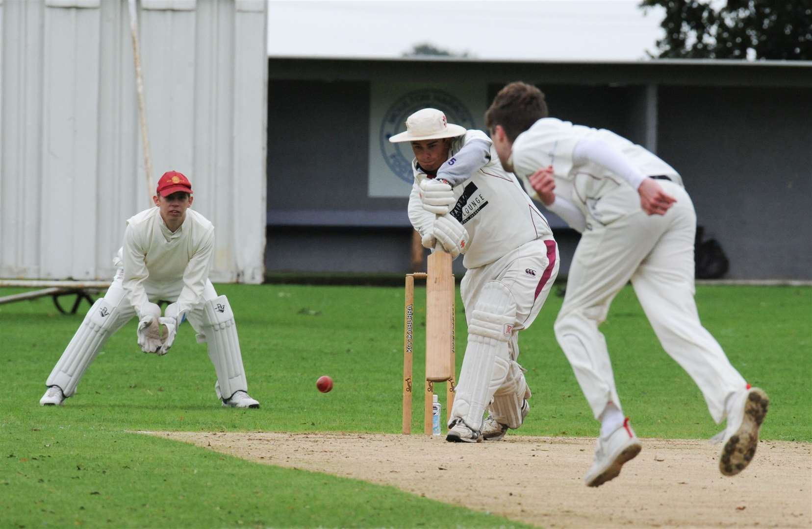 Long Sutton v Moulton Harrox cricket action. (41637924)